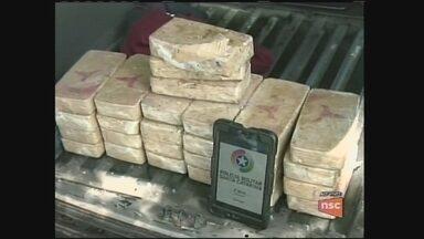 Polícia apreende carga de crack em Chapecó - Polícia apreende carga de crack em Chapecó