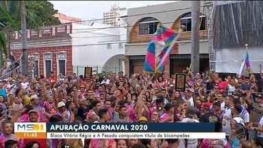 A Pesada leva o bicampeonato do carnaval em Corumbá - A celebração dos 50 anos da escola levou o título em 2020