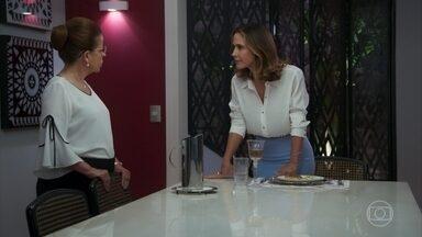 Dominique ameaça Lúcia - A criminosa afirma que ela e Renzo nunca serão presos