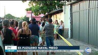 Ex-fuzileiro naval suspeito de matar servidor municipal se entrega a polícia - Ex-fuzileiro naval suspeito de matar servidor municipal se entrega a polícia
