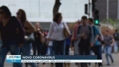 Ministério da Saúde antecipa campanha de vacinação da gripe após 1º caso de coronavírus - Caso foi confirmado em São Paulo, mas o Amapá e a Região Norte não tem nenhum caso suspeito.