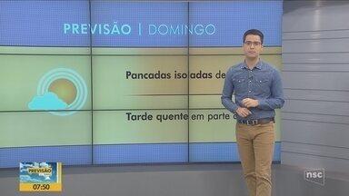 Confira a previsão do tempo para este fim de semana em Santa Catarina - Confira a previsão do tempo para este fim de semana em Santa Catarina