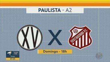 Confira os jogos das séries A2 e A3 no final de semana da região de Ribeirão Preto - Na série A2, o Monte Azul defende a liderança contra o Audax, no sábado (29).
