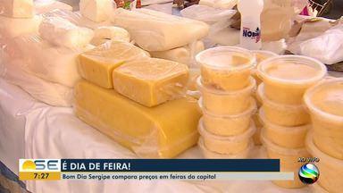 Veja os preços dos produtos em feiras de Aracaju - Bom Dia Sergipe faz comparação.
