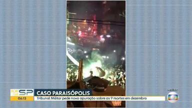 Tribunal de Justiça Militar pede nova apuração sobre 9 mortes em baile funk de Paraisópolis - A Corregedoria da Polícia Militar terá que realizar novas diligências para anexar ao inquérito.