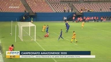 Campeonato Amazonense 2020: Amazonas F.C. vence o Nacional e vai para final - Jogo ocorreu na Arena da Amazônia.