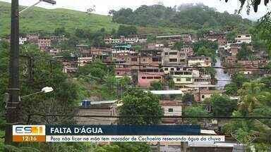Moradores do bairro Monte Belo, em Cachoeiro, reclamam de problemas com a água - undefined