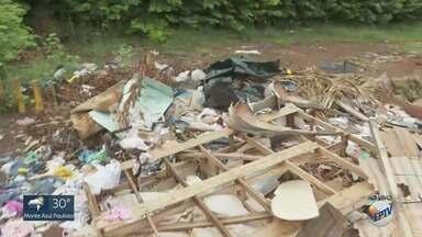 Moradores denunciam 'lixões a céu aberto' em Ribeirão Preto - Reportagem da EPTV percorre terrenos particulares.