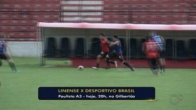 Em briga do G-8, Linense e Desportivo Brasil se enfrentam pela Série A3 - Partida acontece nesta sexta-feira (28), às 20h, no estádio Gilberto Siqueira Lopes, em Lins.