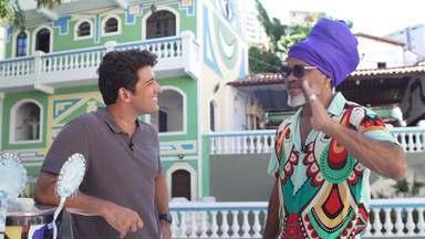 Carlinhos Brown fala de sua música de lançamento do Carnaval, 'Sair pra vencer' - Carlinhos Brown fala de sua música de lançamento do Carnaval, 'Sair pra vencer'