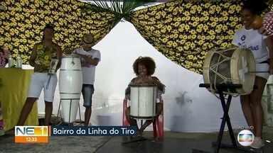 Festa na Linha do Tiro mistura cultura popular e religião - Mãe Odete de Oxossi completa, neste sábado (29), 96 anos.