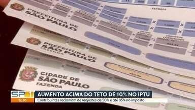 Moradores da capital reclamam de reajuste no IPTU - Prefeitura determinou aumento de 3,5%, mas alguns imóveis sofreram reajustes de mais de 50%.