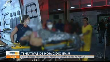 Casal é baleado em João Pessoa - Polícia Civil investiga o caso.