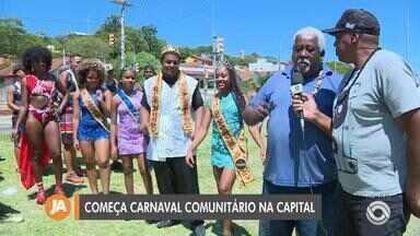 Começa neste sábado o carnaval comunitário em Porto Alegre; saiba mais - Evento conta com atrações para adultos, jovens e crianças, como rodas de samba, maquiagem infantil, cortes de cabelo masculino e feminino e brinquedos.