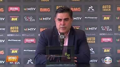 Presidente do Atlético-MG fala sobre demissão de Dudamel, elenco e futuro técnico - Presidente do Atlético-MG fala sobre demissão de Dudamel, elenco e futuro técnico