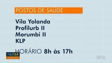 Veja quais Unidades de saúde vão abrir neste fim de semana em Foz do Iguaçu - O horário de atendimento é das 8h às 17h.