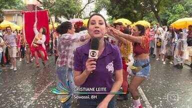 Mistura de ritmos marca a ressaca de Carnaval em BH - Mais de 20 blocos desfilam neste fim de semana trazendo axé, pop, rock e até sofrência.