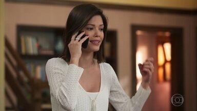Kyra conta para Luna sobre sumiço de Ignácio - Luna teme que Alexia fique sabendo de seu avô e tenta acalmar Kyra