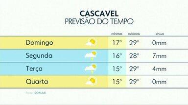 Domingo será ensolarado e sem previsão de chuva - Máxima deve ser de 29ºC.