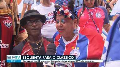 Confira as últimas notícias antes do Ba-Vi de domingo, pelo Campeonato Baiano - Partida acontece a partir das 16h, no Barradão, e vai ter torcida única.