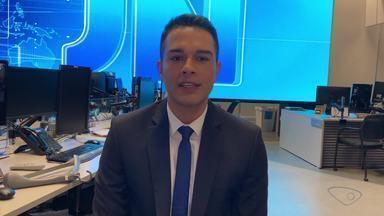 Philipe Lemos, da TV Gazeta, apresenta o JN pela segunda vez - Programa será exibido neste sábado.