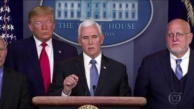 Estados Unidos confirmam primeira morte pelo novo coronavírus - Presidente Trump disse que medidas tomadas até agora, como impedir a entrada de estrangeiros que estiveram na China, reduziram os riscos.