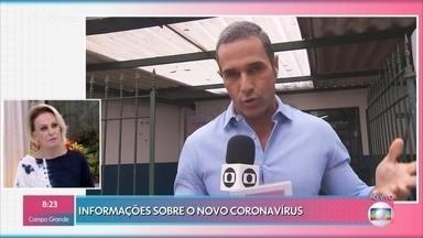 Saiba as últimas informações sobre o coronavírus no Brasil - População corre para comprar álcool gel e máscaras. Médicos explicam que lavar as mãos com sabão é suficiente para a higienização