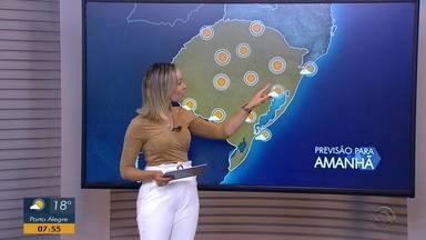 Sexta-feira (6) é marcada por temperaturas baixas durante a manhã e calor durante a tarde - Assista ao vídeo.