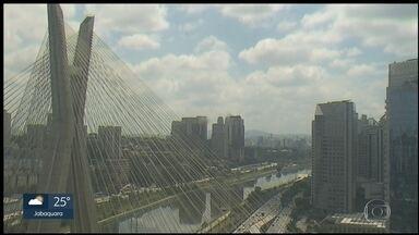 Sábado de sol em todo o estado de São Paulo - Sem previsão de chuva hoje