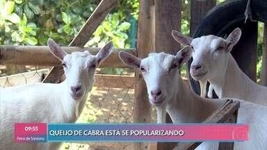 Consumo de queijo de cabra está se popularizando - O 'Mais Você' foi visitar um capril e acompanhou a ordenha das cabras