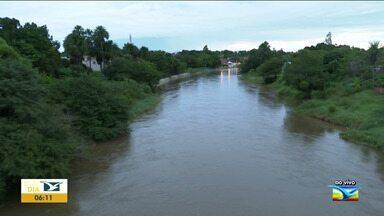 Nível dos rios começa a baixar em Balsas e Grajaú - Em Barra do Corda e Mirador, o volume de água foi maior e as ruas ficaram debaixo de água.