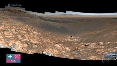 Ana Maria confere a melhor imagem já registrada do solo de Marte - Louro José fica impressionado com nitidez da foto e fala sobre o clima do nosso planeta vizinho