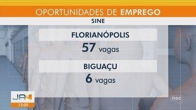 Veja as oportunidades de emprego no Sine da Grande Florianópolis - Veja as oportunidades de emprego no Sine da Grande Florianópolis