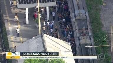 Estações de trem são reabertas após problemas de sinalização na Supervia - Campos Elíseos, Jardim Primavera e Saracuruna foram reabertas ao público na manhã desta sexta (13), após problemas de sinalização.