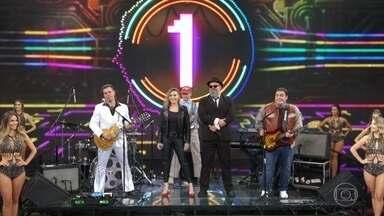 Thiago e Hortência acertam e The Soundtrackers vão ao palco - Dupla canta melodia de Bee Gees corretamente