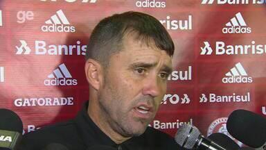 Confira a entrevista coletiva de Coudet após vitória contra o São José-RS - Assista ao vídeo.
