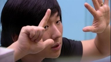 Pyong aponta: 'A gente fez nossas escolhas no começo do jogo' - Pyong conversa com Mari e Flayslane no banheiro