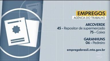 Confira as vagas de emprego disponíveis pela Agência do Trabalho - Arcoverde, Garanhuns, Goiana e Nazaré da Mata oferecem oportunidades.