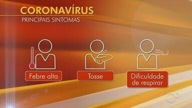 Relembre os sintomas do coronavírus e as recomendações para se prevenir - Relembre os sintomas do coronavírus e as recomendações para se prevenir contra a doença.