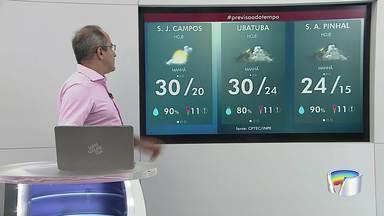 Confira previsão do tempo para esta terça-feira - Dia amanheceu nublado na região.