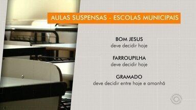 Escolas municipais da Serra suspendem aulas - Confira o período de suspensão em cada Município.