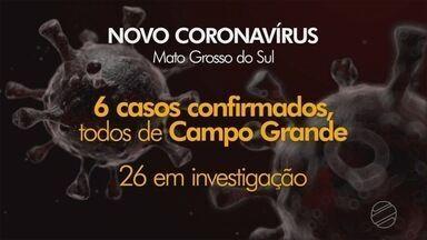MS registra mais dois casos do Novo Coronavírus - Agora são 26 investigados, o prefeito Marquinhos Trad anunciou que o seu teste deu negativo para a doença