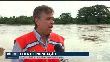 Diversas cidades sofrem com aumento do nível do Rio Poti - Diversas cidades sofrem com aumento do nível do Rio Poti