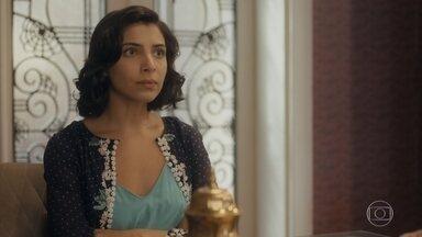 Soraia fica furiosa com Karine - Julinho fala com Almeida sobre sua situação