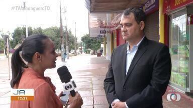 Prefeitura suspende funcionamento de diversos estabelecimentos em Palmas - Prefeitura suspende funcionamento de diversos estabelecimentos em Palmas