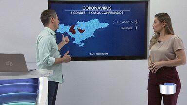 Veja o número de casos confirmados de coronavírus na região - Cidade tem, até o momento, três casos confirmados da doença.