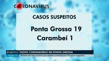 Casos confirmados do novo coronavírus sobem para 36 no Paraná - Boletim foi divulgado na tarde desta sexta-feira (20); são 13 novos casos, sendo 10 em Curitiba.