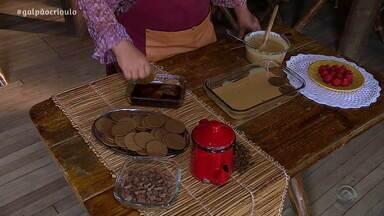 Liliana Cardoso ensina a fazer torta de bolacha no Cozinha de Galpão deste sábado (21) - Assista ao vídeo.
