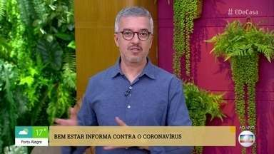 Idosos devem redobrar os cuidados para não contrair o novo coronavírus - Pessoas acima de 60 anos estão dentro do grupo de risco e devem seguir todas a orientações.