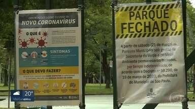 Coronavírus: parques municipais e estaduais são fechados sem data para reabertura - A medida foi tomada para tentar conter o avanço da Covid-19.